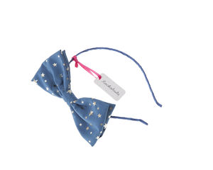 Starry Bow Alice Band - hair accessories