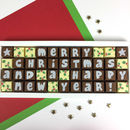 Christmas Message Chocolates