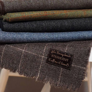 Personalised Lambswool Message Scarf - men's accessories
