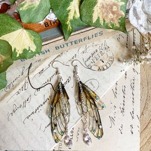 Magical Faerie Wing Earrings