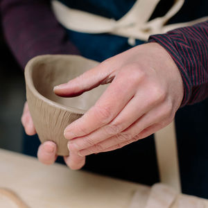 'Pinch' Pottery Workshop For Two In Leeds