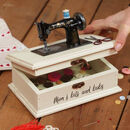 Mum's Personalised Vintage Sewing Box