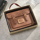 Chocolate Satchel