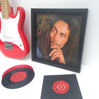 Bespoke Framed Vinyl LP Record Covers