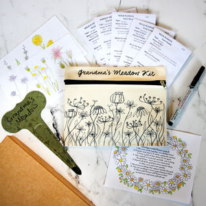 Grow Your Own Meadow Gift Box - gifts for grandmothers