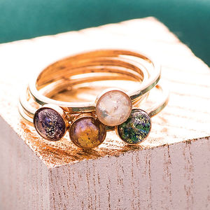 Celestial Stacking Rings - for sisters
