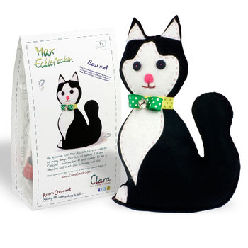 Max Ecklefeckin Cat Felt Sewing Kit