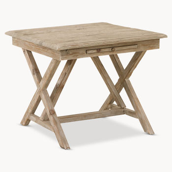 Woodcroft X Cross Side Table