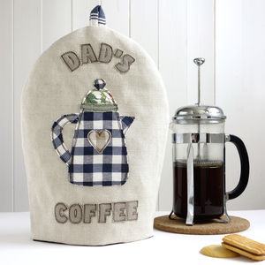 Personalised Cafetiere Cosy For Him