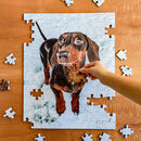 Personalised 150 Piece Large Wooden Photo Puzzle