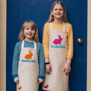 Personalised Easter Bunny Apron