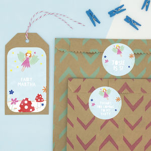 Personalised Fairy Stickers