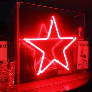 Star Shaped Neon Light Sign