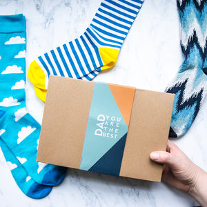 Father's Day Sock Gift Box