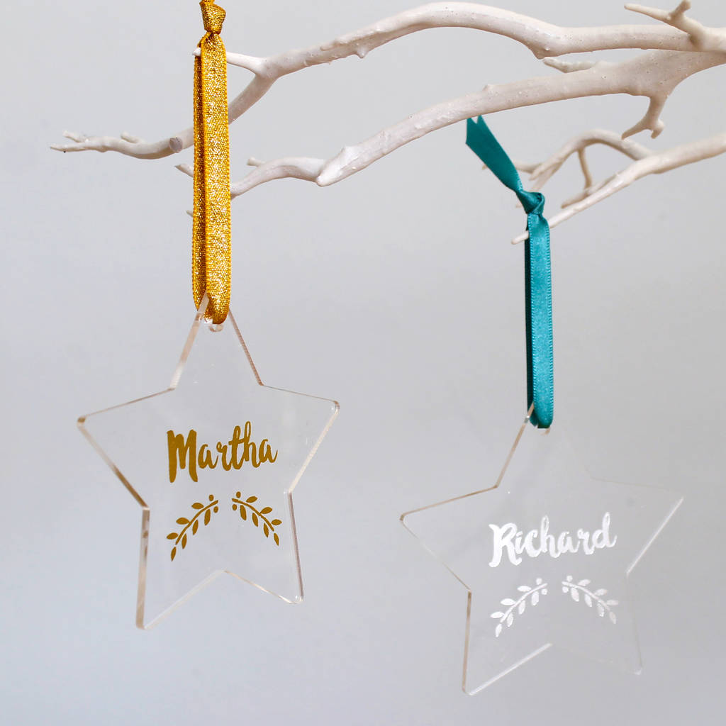 Alternative Cracker With Personalised Decoration By Martha