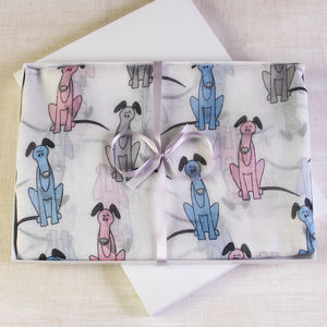 Greyhound Sketch Scarf - view all new