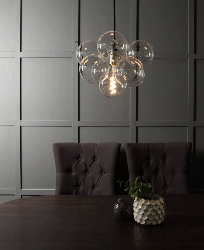 Bubble chandelier light by dowsing reynolds notonthehighstreet bubble chandelier light aloadofball Image collections