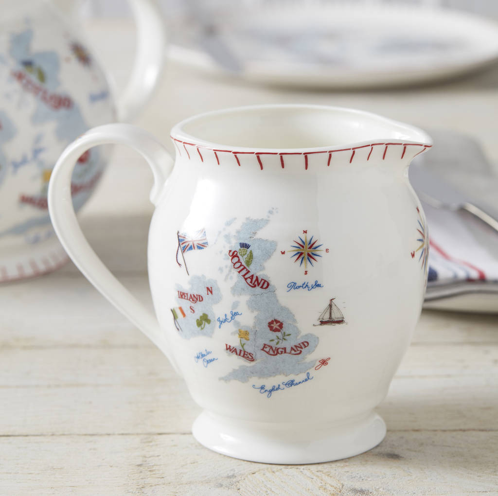 Great British Bone China Jug