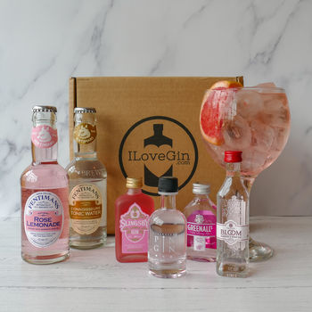 The Pink Gins And Tonics Tasting Gift Set