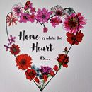 Personalised Home Is Where The Heart Is Print