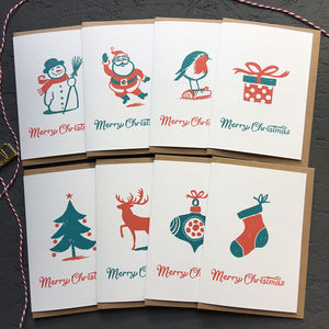 Christmas Cards Pack - cards & wrap