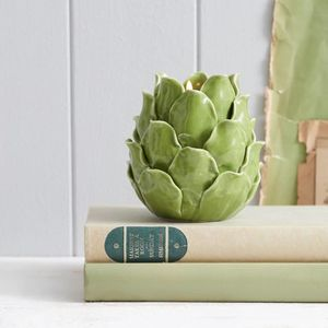 Artichoke Tea Light Holder - tableware