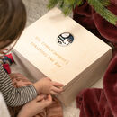 Personalised Christmas Eve Memory Box