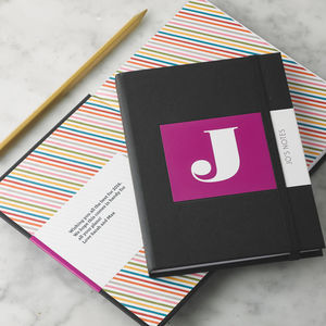 Personalised Alphabet Notebook - stocking fillers