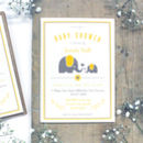 Personalised Ellie Elephant 'Baby Shower' Invitation