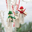 Snowman Christmas Tree Decoration