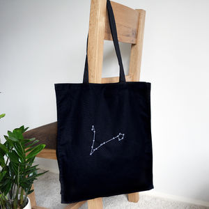 Zodiac Sign Tote Bag