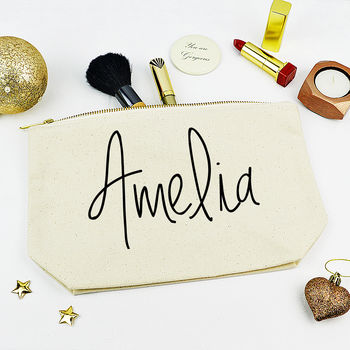 Personalised Name Make Up Case