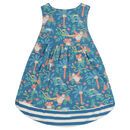 Girls Sleeveless Rainforest Summer Dress