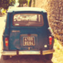 Vintage Car France Fine Art Photography Print