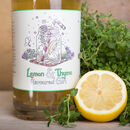Lemon And Thyme Flavoured Gin