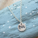 Silver Run Necklace