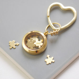Personalised 'Love You To Pieces' Keyring - gifts for him