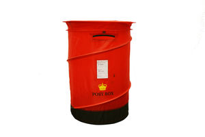 Post Box Pop Up Laundry Basket + Toy Storage - laundry bags & baskets