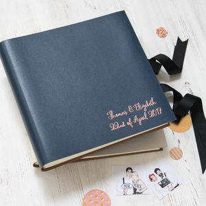Personalised Photo Booth Guest Book - personalised wedding gifts