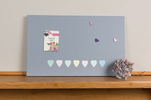 Hearts Design Magnetic Noticeboard - noticeboards