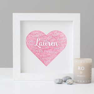 Personalised Watercolour Birthday Gift - personalised sale