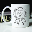 Personalised Father's Day Ceramic Mug