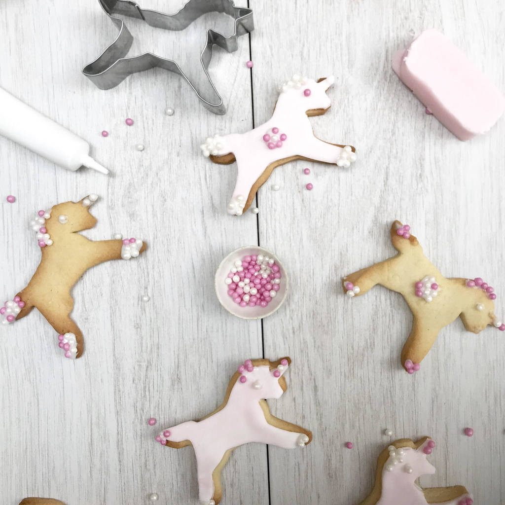 Unicorn Biscuit Baking Kit by Craft &Amp; Crumb