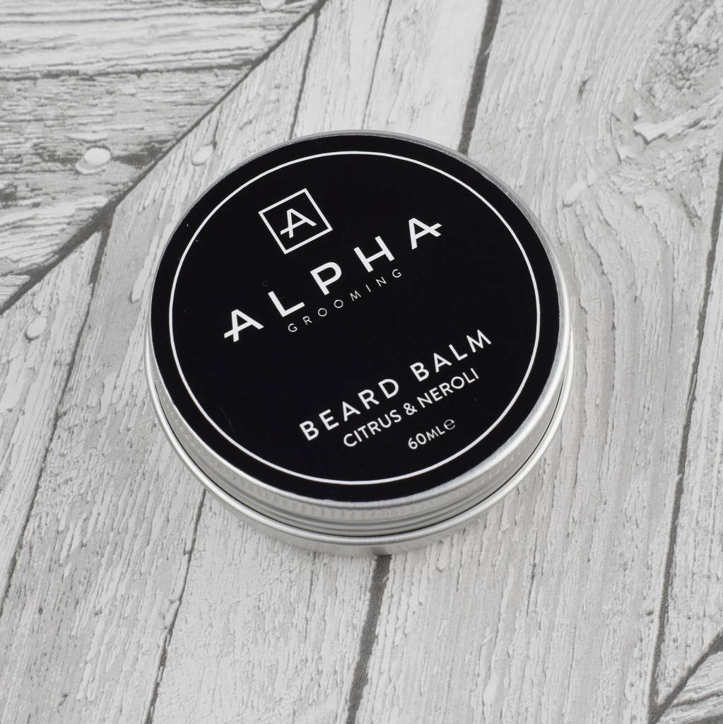Premium Citrus And Neroli Beard Balm