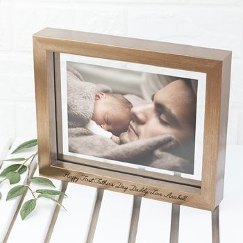 Personalised Copper Toned Photo Frame