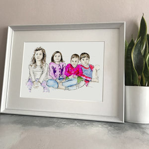 Personalised Favourite Person Illustration