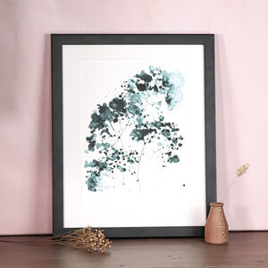 Limited Edition Wild Flower A4 Art Print
