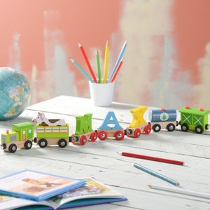 Personalised Farmyard Name Train - cars & trains