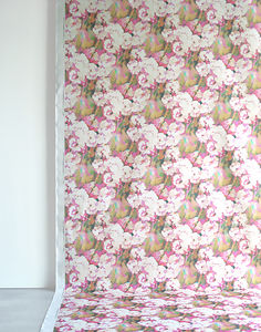 Rosa Fabric - throws, blankets & fabric
