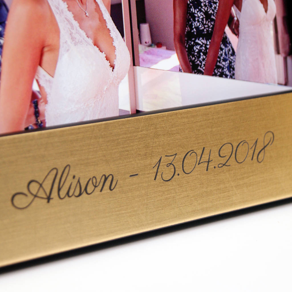 personalised \'mother of the bride or groom\' photo frame by urban ...